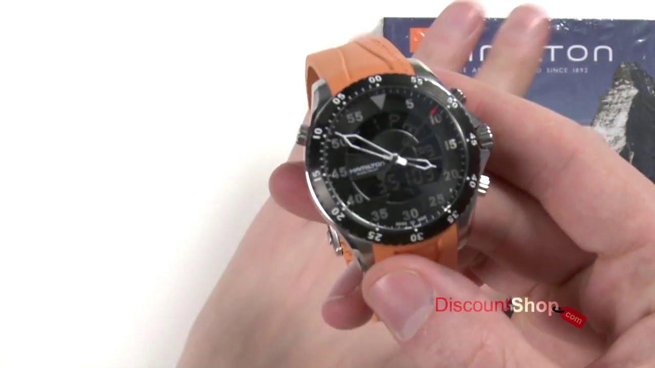 30db1bd6f76 Hamilton Flight Timer H64554431   H64554331 - review by DiscountShop ...