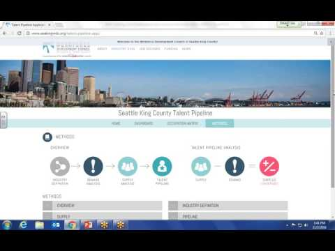 """Resource Showcase: Talent Pipeline App"" (Workforce Development Council of Seattle-King County)"