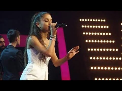 Ariana Grande - Problem, Love Me Harder, Break Free (Live at the Voice of Italy) HD