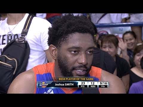 Best Player: Joshua Smith   PBA Commissioner's Cup 2017