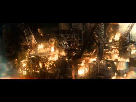 Man of Steel: Oil Rig Scene (1080p)