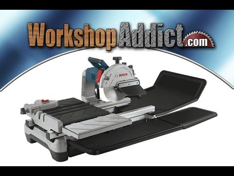Bosch TC Wet Tile And Stone Saw YouTube - Bosch tile saw for sale