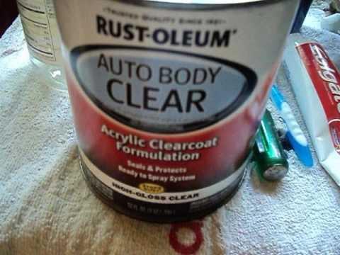 $15/Quart Rustoleum Arcrylic Clear Coat, Result and Review (Quick-Easy)