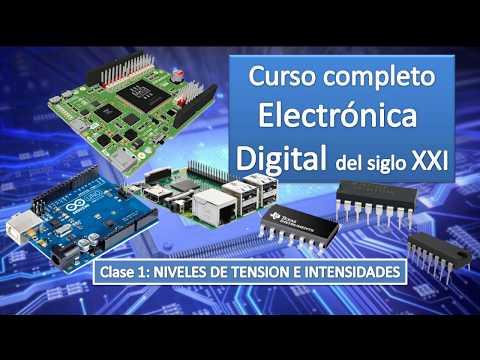 clase-1:-niveles-de-tension-y-corriente.-curso-electronica-digital-s.-xxi