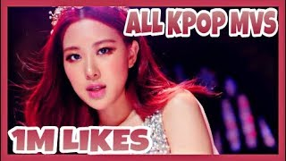 All KPOP Music Videos With Over 1 Million Likes Released In 2018