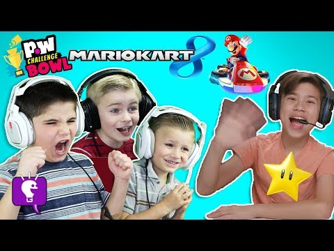 HobbyKids VS EvanTube - MARIOKART 8! pocket.watch Challenge Bowl 2018