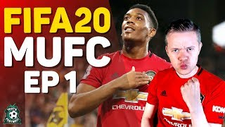 F FA 20 Manchester United Career Mode GOLDBR DGE Episode 1