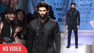 Aditya Roy Kapur Walks At Lakme Fashion Week 2019 | Day 05 #LFW2019