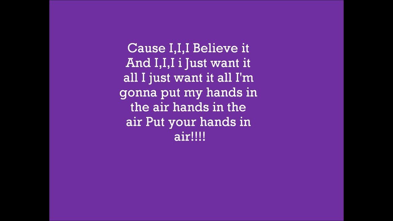 CHINA ANNE MCCLAIN : Dynamite lyrics