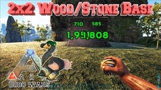 Die perfekte Dodo Wars Base | 2x2 Stone/Wood Base