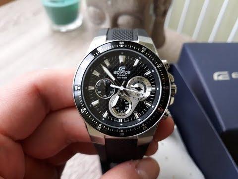 CASIO EF - 552-1AVEF: Видео обзор мужских часов Edifice от PlanetWatch.com.ua