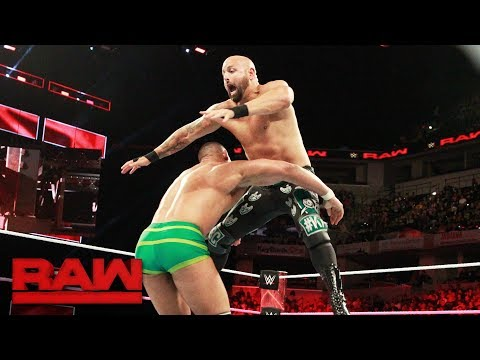 Jason Jordan vs. Karl Anderson: Raw, Oct. 9, 2017