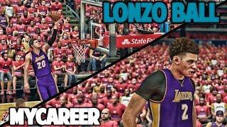 MOZGOV THE GOAT - NBA 2K17 LONZO BALL MyCareer