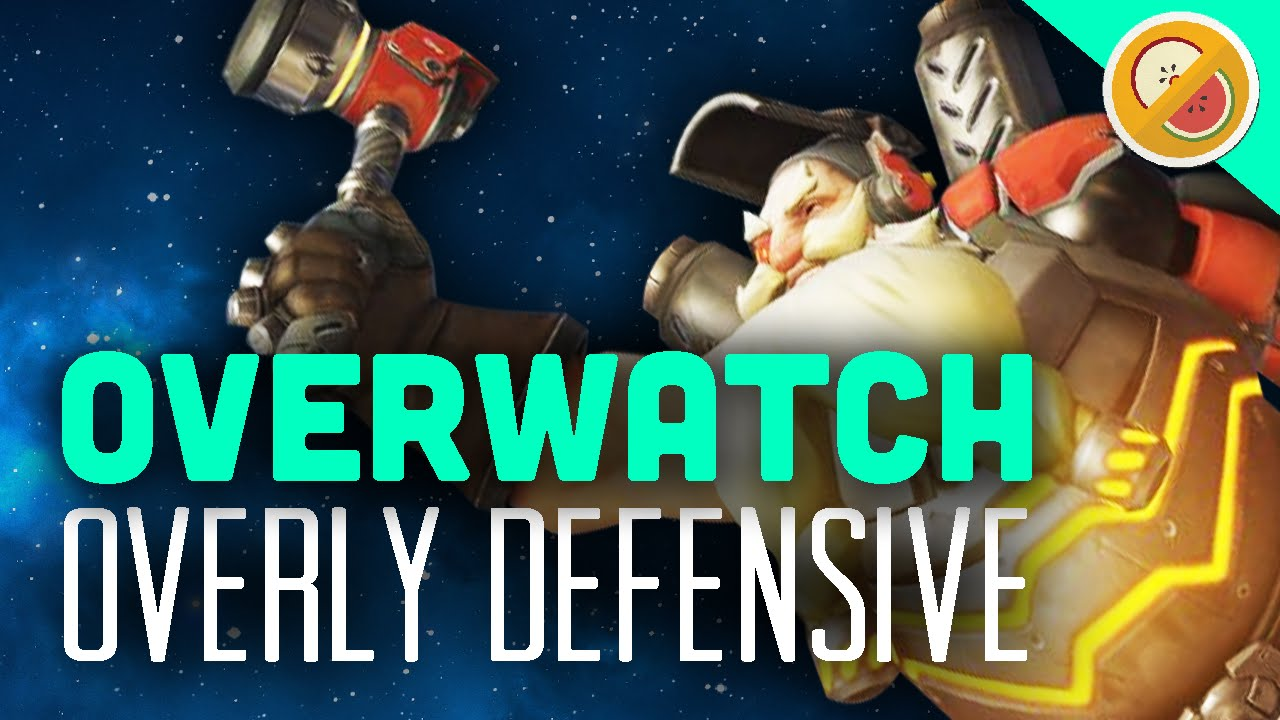 Overly Defensive Weekly Brawl Overwatch Gameplay Funny Moments