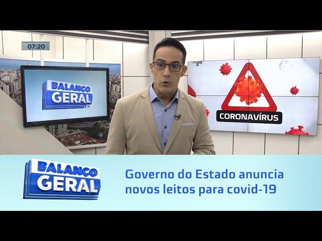Covid-19: Governo do Estado anuncia novos leitos em Arapiraca e outras cidades