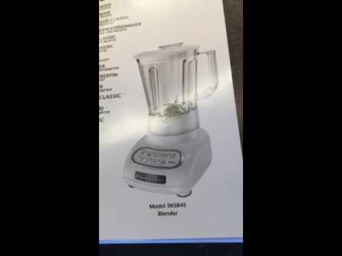 Kitchen aid classic blender review - YouTube