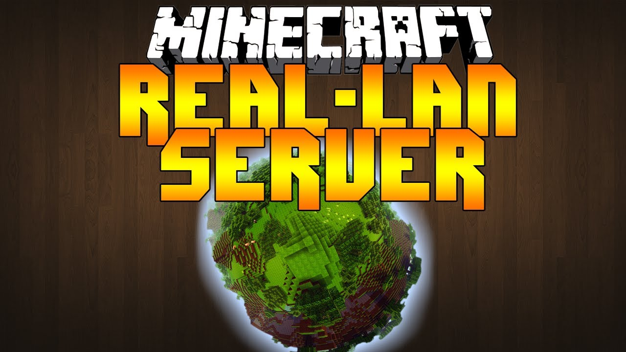 how to make a lan server in minecraft