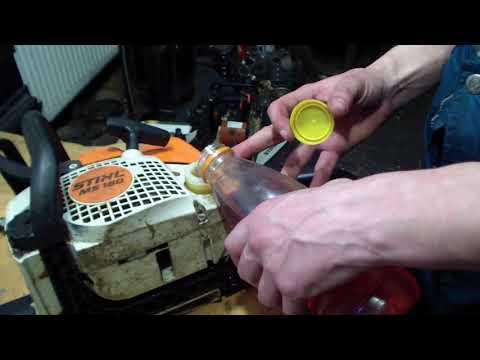 Как правильно развести бензин с маслом для бензопилы или мотокосы
