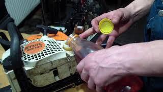 Қалай істі тындыра бензин майы қосылған бензинмен жұмыс істейтін ара үшін немесе мотокосы