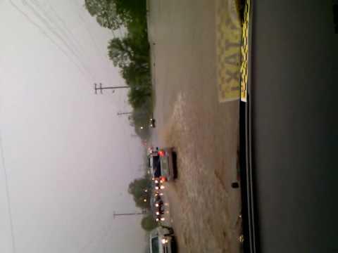 Hendersonville TN Main Street flood