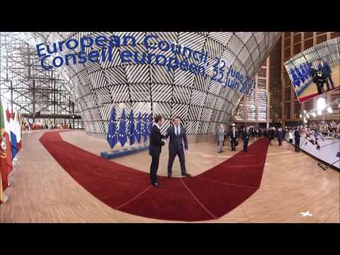 European Council summit in 360°