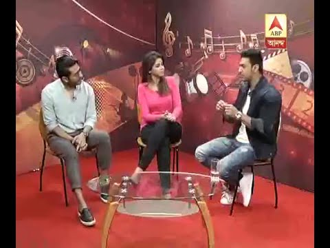 Watch:Actor Dev And Director Raj Chakraborty Of The Film 'Champ' In The Studio Of ABP Anan