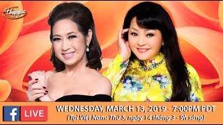 Livestream với Hương Lan & Ý Lan - March 13, 2019