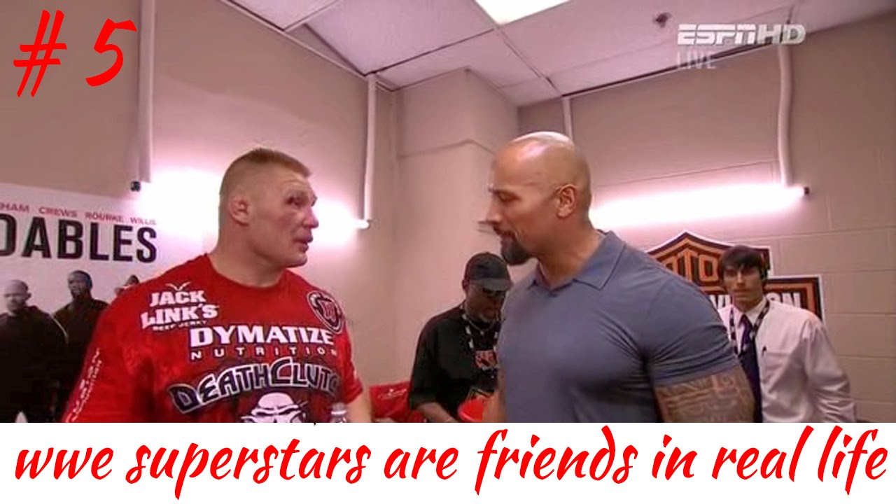 WWE SUPERSTARS ARE FRIENDS IN REAL LIFE Part 5