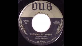 Chuck Brooks And The Sharpies Spinning My Wheels  DUB HJOW 7317
