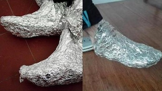 Wrap Your Feet In Aluminium Foil for 1 Hour and Enjoy The 4 Health Benefits