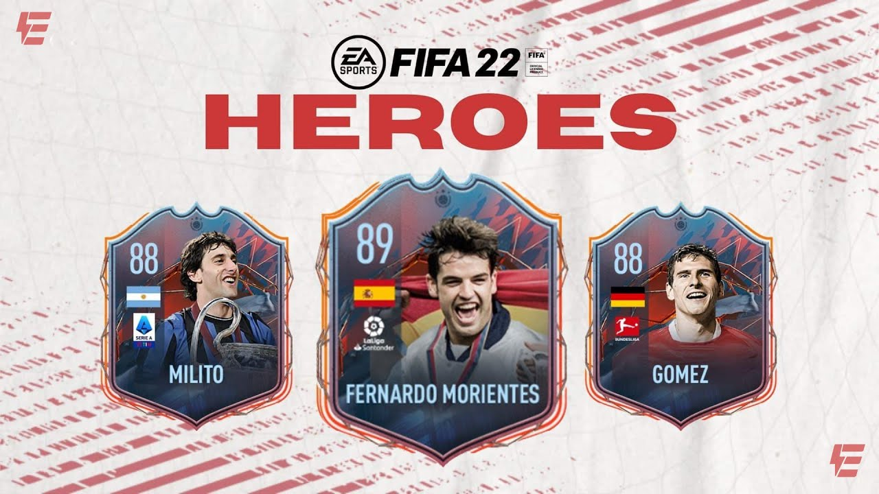 FIFA 22 HEROES & PREVIEW PACKS!