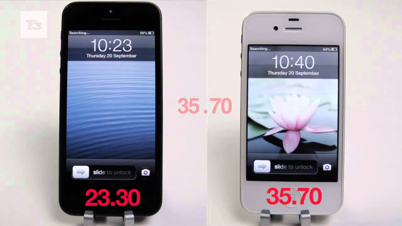 speed test iphone iphone 5 speed test iphone 5 vs iphone 4s speed tests 5267