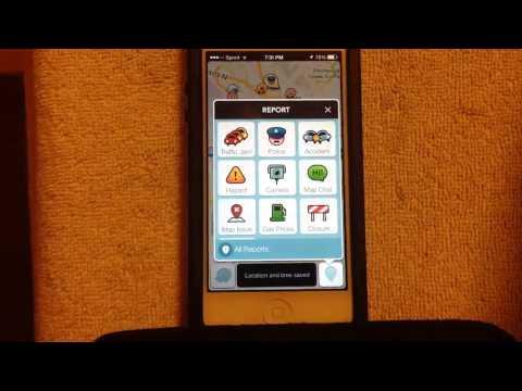 How to use Waze