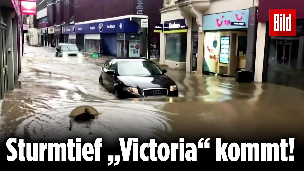 """Nach """"Sabine"""" kommt Sturmtief Victoria - BILD"""