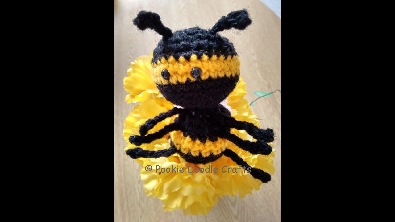 Amigurumi Bee - crochet along tutorial and free pattern - YouTube