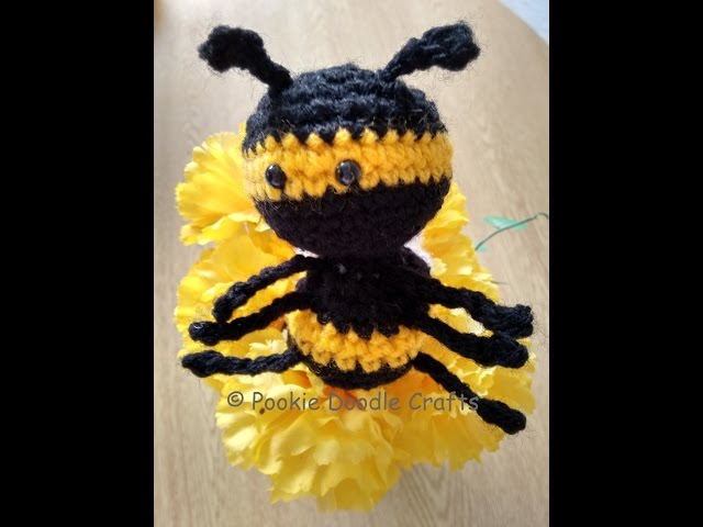 Amigurumi Bee - crochet along tutorial and free pattern