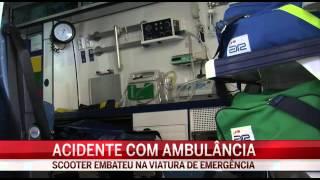 Acidente com ambulância mata doente em Évora