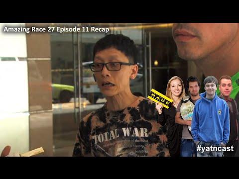 Amazing Race 27 Episode 11 Recap #amazingrace #yatncast