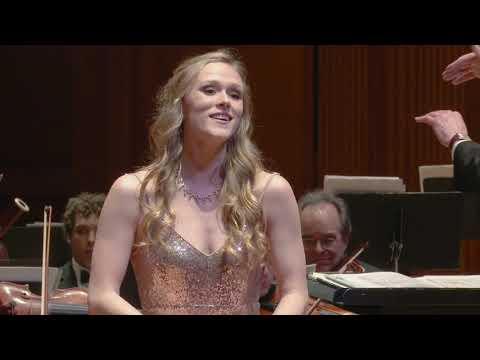 Berkshire Symphony Student Soloist Gala, Erin Kennedy '19, Soprano