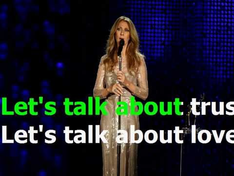 Let's Talk About Love - Celine Dion (Karaoke)