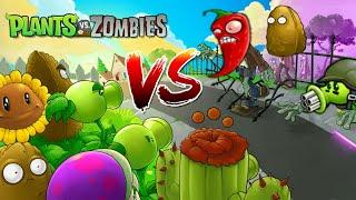 Zombotany 2 | Plants vs Zombie Plants | All MINIGAMES Part 9 | Plants vs Zombies