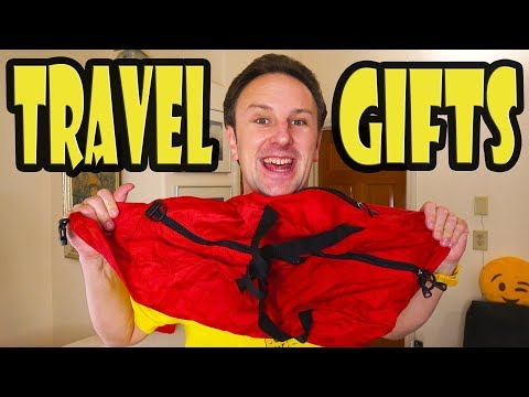 30 Travel Gift Ideas - Clothes, Luggage, Electronics, and more!