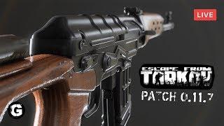 🔴 Стрим по игре Escape From Tarkov  PATCH 0.11.7  Что да как 18 EFT