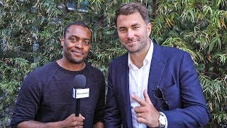 Eddie Hearn REVEALS! Short List of REPLACEMENTS vs Anthony Joshua