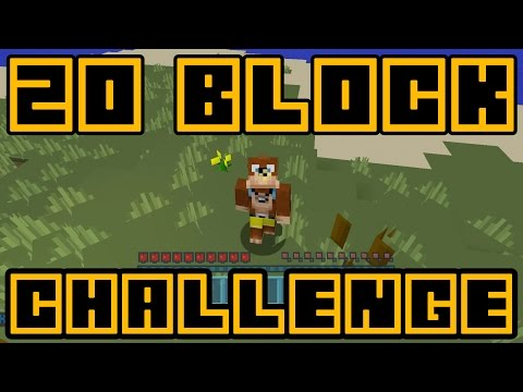 Minecraft Xbox - 20 Block Challenge - Amazing Beginnings! (1)