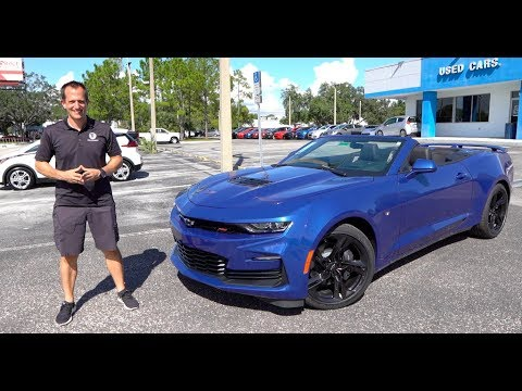What are the MAJOR changes for the 2020 Chevy Camaro SS?
