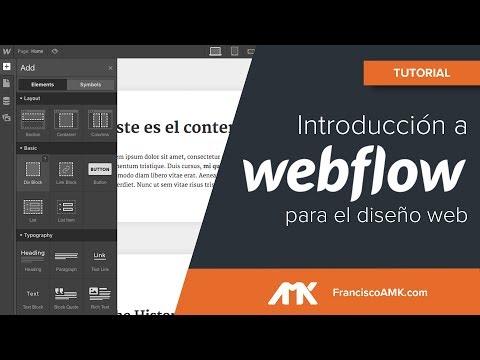 Introducción a Webflow en español