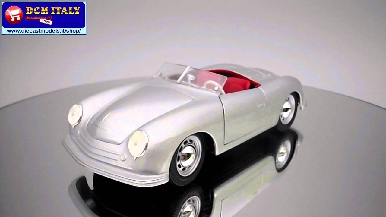 Porsche n1 typ 356 roadster 1948 maisto 124 youtube porsche n1 typ 356 roadster 1948 maisto 124 vanachro Choice Image