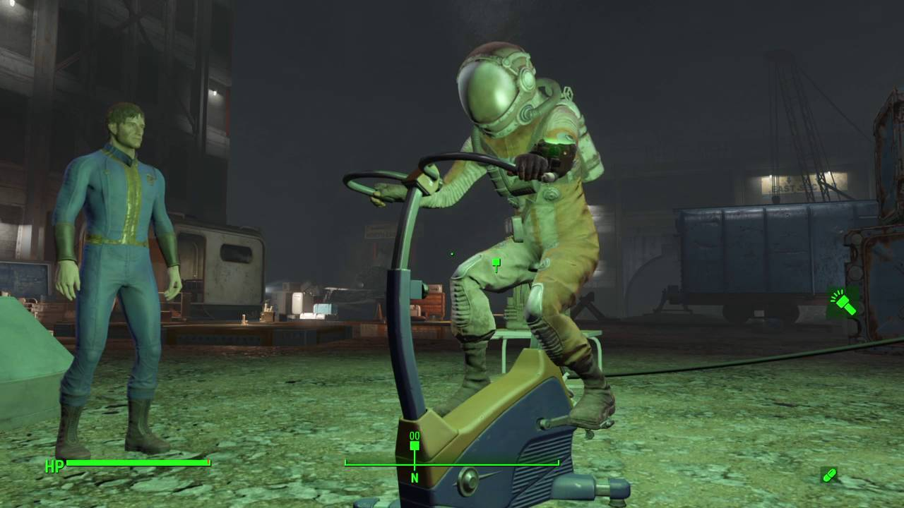 Hook up power fallout 4