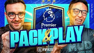 GUARANTEED PREMIER LEAGUE TEAM OF THE SEASON!!! Fifa 20 Pack And Play